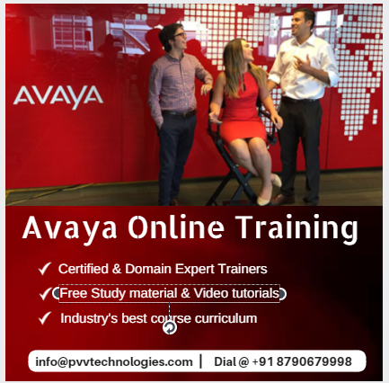 Avaya Online Training Institute from India
