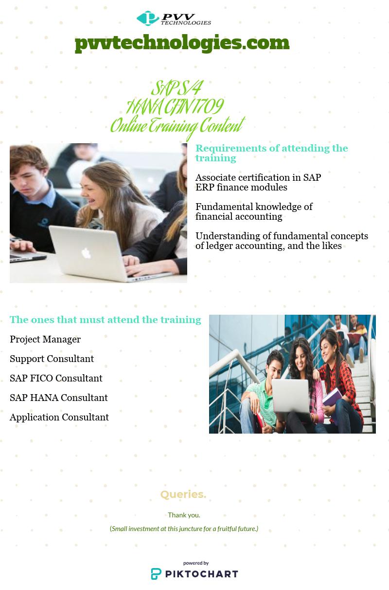 SAP S/4 HANA CFIN 1709