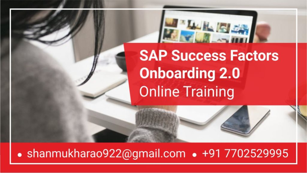SAP Sucess Factors Onboarding Course Key Features